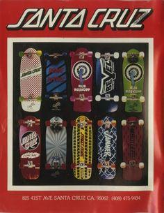 Santa Cruz - Old School Skateboarding