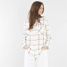 Chemise à carreaux - Collection Manches longues - Pimkie France