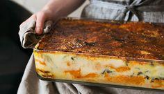 Roast Pumpkin Lasagne Recipe & Four Cheeses | Maxwell & Williams