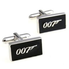 The James Bond 007 Cuff links Gift Boxed(wedding cufflinks,jewelry for men,gift for groom) $19.79