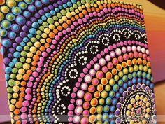 Pintura de arco iris acrílico pintar sobre por RaechelSaunders