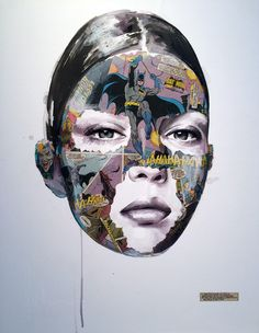 WHO: Sandra Chevrier WHY: I like the use of mixed media to make the piece more interesting
