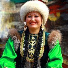 Bashkir girl, Russia