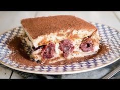 Gesztenyés-meggyes tiramisu recept képpel. Hozzávalók és az elkészítés részletes leírása. A gesztenyés-meggyes tiramisu elkészítési ideje: 25 perc Tiramisu, No Bake Treats, Food And Drink, Ethnic Recipes, Sweet, David, Backen, Tiramisu Cake