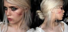 Ciri - The Witcher 3 Makeup Test by Mirish.deviantart.com on @DeviantArt