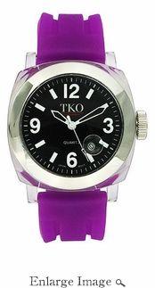 TKO Watch Milano III Purple & Black