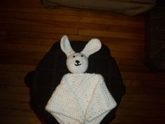 Bunny Love. no specific pattern Made for a new pink bundle of love.