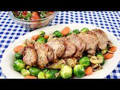 Muschiulet de porc la tigaie fraged si suculent, preparat la tigaie, o reteta rapida si gustoasa, gata in 20 de minute. I Foods, Steak, Beef, Recipes, Youtube, Pork, Meat, Ox