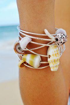 Hawaiian Shell Bangles- WANT!