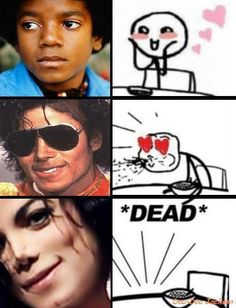 Michael's effect on pretty much everyone..I knew I hit the floor in tears that day!