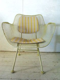 mid century patio chairs | Russell Woodard Sculptura Patio Chair mid century modern, eames era