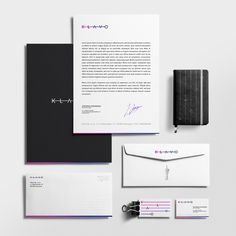 Branding for KLAVO, a company providingprofessional and complete organisationof the exhibitions and events for culturalinstitutionsin Poland and the EU.
