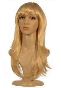 NEW fashion HOT sexy Long Blonde Straight Anime cosplay wigs party Masquerade girls 50CM by Sweet & Happy Girl's Fashion Wigs. $20.99. NEW store open, Big Discount, From factory, Arrive in 2-3 weeks. Worth the wait... RETURNS ACCEPTABLE IN 14 DAYS (ORIGINAL SELLING STATUS,NO WEAR PLEASE). Fashion Wigs, Janpanese Synthetic Fiber. NOT Human Hair.. Full Wigs, Change Your Looks In Seconds.Great Idea for Party Cosplay Masquerade etc.. Length: 50CM (+/- 5CM). Click my brand find m...