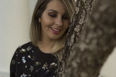 Meu look jeans glam <3