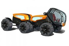 Farm tractor concepts | ... from: ANTS – Future Tractor-Trailer Design Concept | Green Big Truck