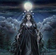 Artemis...Goddess of the Moon..and of the Hunt....