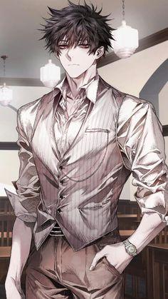 That smile 😍🔥❣ Hot Anime Boy, Anime Bad, Manga Anime, Anime Boy Hair, Yandere Anime, Cool Anime Guys, Handsome Anime Guys, Manga Boy, Anime Demon