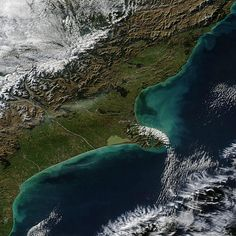June 2012 / Christchurch, New Zealand (pre-snowfall) Earth From Space, Gods Creation, Canterbury, Top Of The World, Aerial View, Far Away, Homeland, Kiwi, Banks