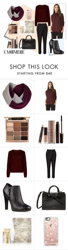 """""""#cashmere"""" by edin-levic ❤ liked on Polyvore featuring Post-It, Rosie Sugden, Vince, Stila, Laura Mercier, 360cashmere, Jigsaw, Nine West, DKNY and Casetify"""