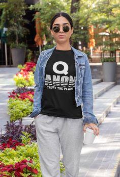 WWG1WGA Qanon Rabbit Q Anon Shirt Q Q Where We Go One We Go All Unisex T-shirt T Shirt Designs, Mode Streetwear, Streetwear Fashion, Ibuki Mioda, Pride Shirts, Girl Shirts, Cat Shirts, Jersey Shorts, Cotton Tee