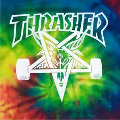 Tie Dye #thrasher