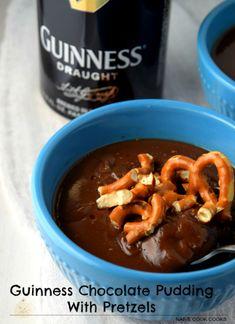 ... Guinness Chocolate Pudding! #recipes #pudding #chocolate #dessert #