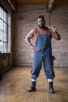 Shazam! Mr. T Lands Home Improvement Show 'I Pity the Tool' #love