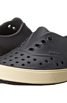 Native Kids Shoes Miller (Toddler/Little Kid) (Jiffy Black) Kids Shoes - Native Kids Shoes, Miller (Toddler/Little Kid), 13100200-003, Footwear Closed Slip on Casual, Slip on Casual, Closed Footwear, Footwear, Shoes, Gift - Outfit Ideas And Street Style 2017