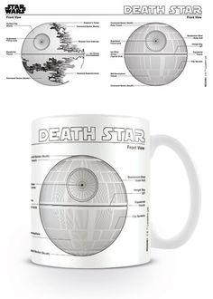 🎁 NEW : Mug Etoile Noire Sketch ➡ http://ow.ly/c3Lm301MWn5 ✔ en stock / expédié en 24h / 10.90€ 🏠 Dispo en 1h sur Paris  Nouvelle collection de mug Star Wars très sympa concentré sur les vaisseaux de la saga.  #StarWars
