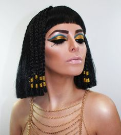 Cleopatra  31 Days of Halloween   Makeup and model: Ingrid M. Rivera  IG: ingrid_makeup