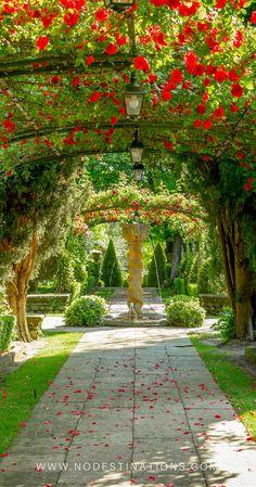 Part of the gardens at Hotel Le Pigonnet | Aix en Provence, France