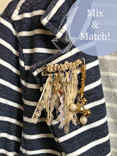 WhiMSy love: DIY: Safety Pin Pins