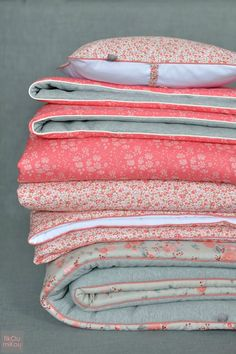 Liberty and Nani Iro | Sweat and Cotton Flannel | Bed Covers