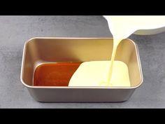 En mettant ces 3 couches dans un moule à gâteau, vous pouvez servir un flan XXL après 90 minutes - YouTube Pudding Desserts, Desserts Espagnols, Filipino Desserts, Delicious Desserts, Dessert Recipes, Flan Au Caramel, Meatloaf Pan, Easy Cooking, Cooking Recipes