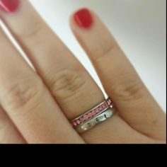 Love the name ring infinity band combination! Size 7s are going fast  by DreamWillowStudio on etsy