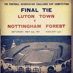 F.A Cup Final 1959 programme.