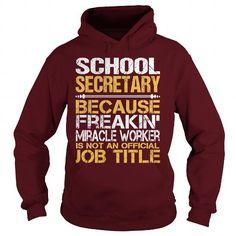 I Love   Awesome Tee For School Secretary T-Shirts #tee #tshirt #Job #ZodiacTshirt #Profession #Career #secretary
