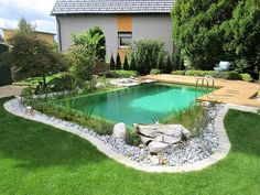 Natural Swimming Ponds, Swimming Pools Backyard, Swimming Pool Designs, Piscina Diy, Diy Pond, Dream Pools, Above Ground Pool, Pool Houses, Backyard Patio