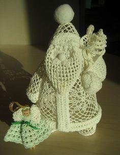 Crochê Tricô: Anjos Natalinos