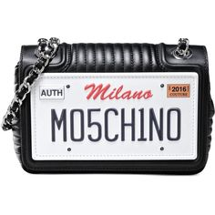 Moschino Shoulder Bag (15.420 CZK) ❤ liked on Polyvore featuring bags, handbags, shoulder bags, black, moschino purse, moschino handbag, moschino, shoulder bag purse and shoulder hand bags