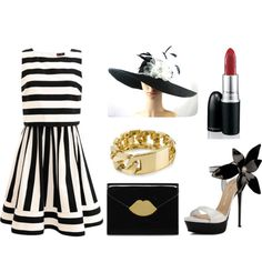 Black and White Derby looks by kier-mellour on Polyvore