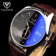 $7.96 (Buy here: https://alitems.com/g/1e8d114494ebda23ff8b16525dc3e8/?i=5&ulp=https%3A%2F%2Fwww.aliexpress.com%2Fitem%2F2016-Hot-Sale-YAZOLE-Brand-Auto-Date-Quartz-Watch-Men-Watch-Fashion-Blue-Glass-Business-Watch%2F32705534682.html ) 2016 Hot Sale YAZOLE Brand Auto Date Quartz-Watch Men Watch Fashion Blue Glass Business Watch Male Clock Hour Waterproof Watches for just $7.96
