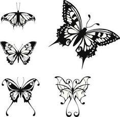 Resultado de imagen para tatuajes de mariposas