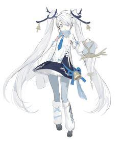 Character Concept, Character Art, Concept Art, Cute Characters, Anime Characters, Ninja Girl, Pretty Drawings, Funky Art, Cute Animal Drawings