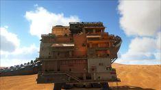 ark survival evolved adobe titan platform base