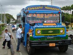 Managua, Nicaragua jaja los autobuses