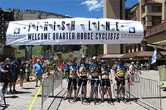 Quarter Horse to Purgatory - part of the Iron Horse Bicycle Classic - ride from town to #Durango Mountain Resort! May 24, 2014