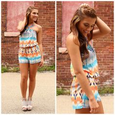 Weekend Retreat Romper