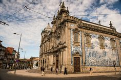 Porto, Portugal Such an enchanting place. Classic Architecture, Amazing Architecture, Saint Tropez, Casablanca, Marrakech, Santorini, Cool Places To Visit, Places To Go, Beautiful World