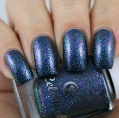 Celestial Cosmetics There's A Party In My Polish & You're Invited swatched by Olivia Jade Nails